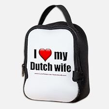 """Love My Dutch Wife"" Neoprene Lunch Bag"
