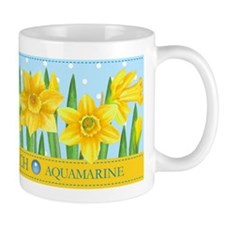 Birth Flowers and Gem Mug March