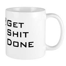 Get shit done travel mug Mugs