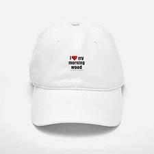 """Love My Morning Wood"" Baseball Baseball Cap"