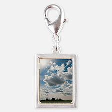Landscape Silver Portrait Charm