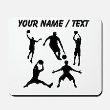 Custom Basketball Silhouettes Mousepad