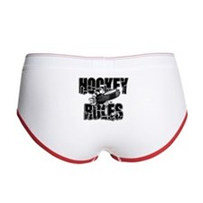 Hockey Rules Women's Boy Brief