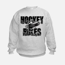 Hockey Rules Sweatshirt