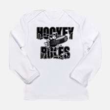 Hockey Rules Long Sleeve Infant T-Shirt