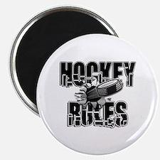 Hockey Rules Magnet