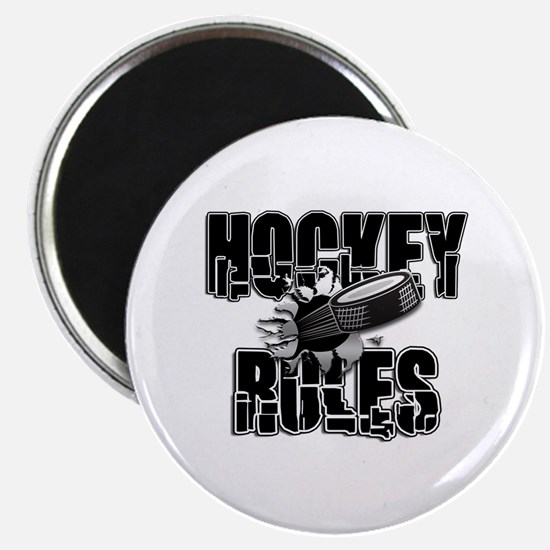 Hockey Rules Magnet