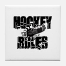 Hockey Rules Tile Coaster