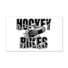 Hockey Rules Wall Decal