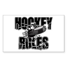 Hockey Rules Decal