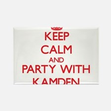 Keep Calm and Party with Kamden Magnets
