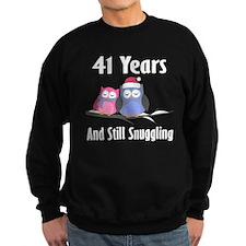 41st Anniversary Snuggling Owls Sweatshirt