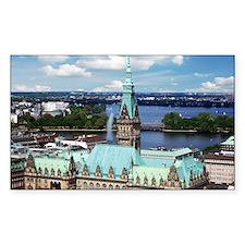 Hamburg Townhall Decal