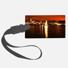 Christmas Tree on the Alster Luggage Tag