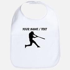 Custom Baseball Batter Silhouette Bib