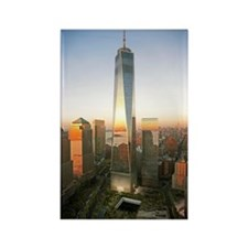 Freedom Tower Rectangle Magnet