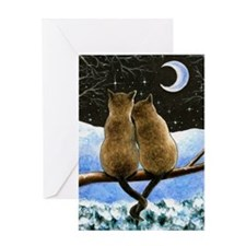 Cat 584 Greeting Cards
