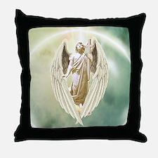 Angel Gabriel Throw Pillow