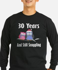 30th Anniversary Snuggling Owls T