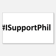 #ISupportPhil Decal