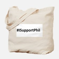 #ISupportPhil Tote Bag