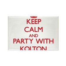 Keep Calm and Party with Kolton Magnets