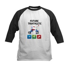 2-future_triathlete_tricycle Baseball Jersey