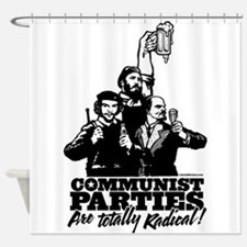 Communist Parties Shower Curtain