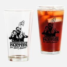 Communist Parties Drinking Glass