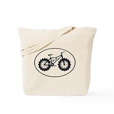 fatbike AK black Tote Bag