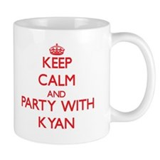 Keep Calm and Party with Kyan Mugs