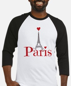 I love Paris Baseball Jersey
