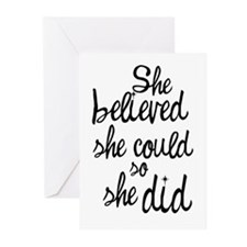 Believed Greeting Cards