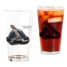 Pinta Island Tortoise Drinking Glass