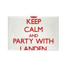 Keep Calm and Party with Landen Magnets