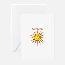 San Jose, California Greeting Cards (Pk of 10)