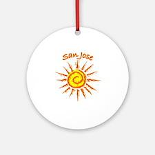 San Jose, California Ornament (Round)