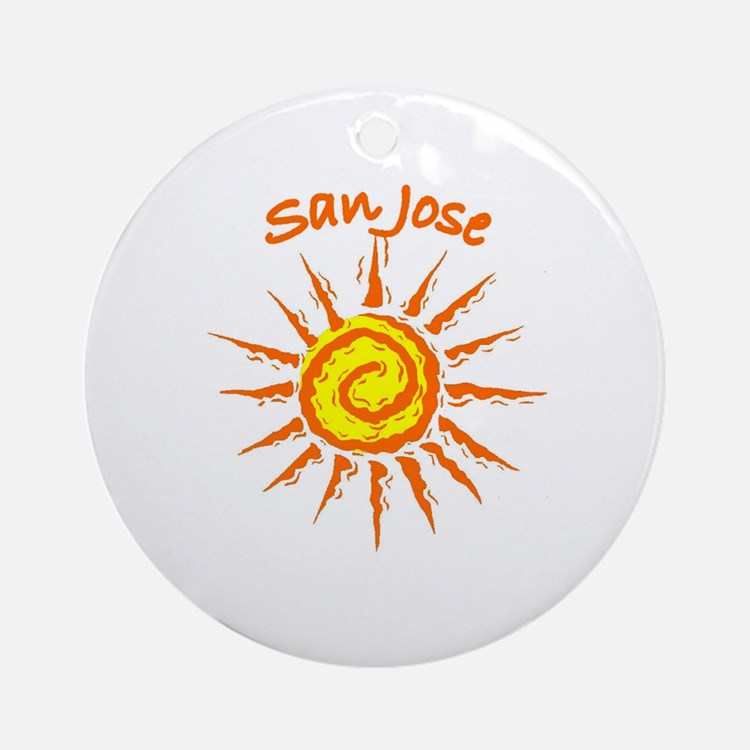 San Jose, California Ornament (Round)