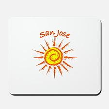 San Jose, California Mousepad