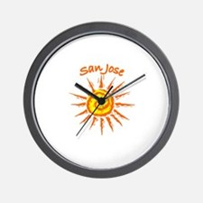 San Jose, California Wall Clock