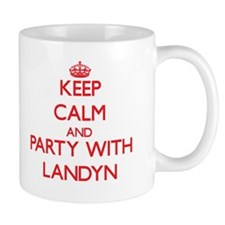 Keep Calm and Party with Landyn Mugs