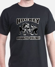 Hockey Organized Violence T-Shirt