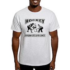 Hockey Organized Violence T-Shirt