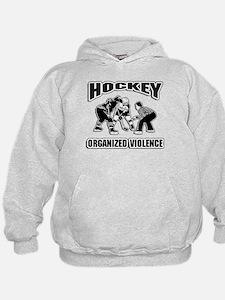 Hockey Organized Violence Hoodie