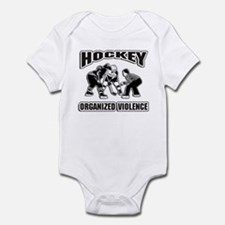 Hockey Organized Violence Infant Bodysuit