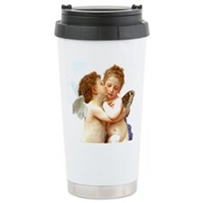 Cupids Kiss by Bouguereau Travel Mug