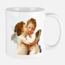 Cupids Kiss by Bouguereau Mugs