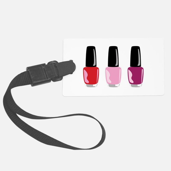 Nail Polish Luggage Tag