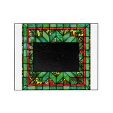 Red and Green Quilt Picture Frame
