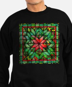 Red and Green Quilt Sweatshirt